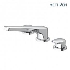 Kaha 3 hole deck mounted bath mixer