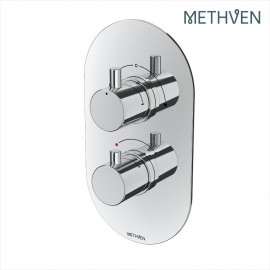 Kaha Con Therm Mixer Vlv with Integral Diverter (2 outlets)