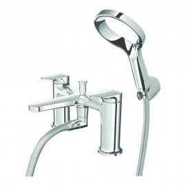 Aio Deck Mounted Bath & Shower Mixer