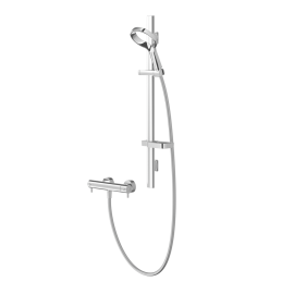 Aio Aurajet Cool Touch Bar Mixer Shower Kit
