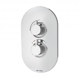 Kaha Concealed Mixer Valve with ABS Plate