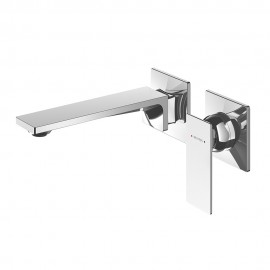 Surface Wall Mounted Mixer and Spout