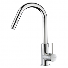 Culinary Gooseneck Pull Out Sink Mixer
