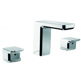 Kiri 3 Hole Hob Mounted Basin Set