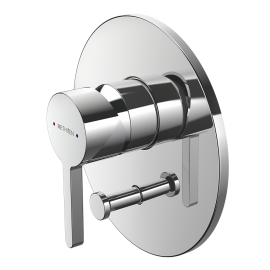 Arrow Shower Mixer with Diverter