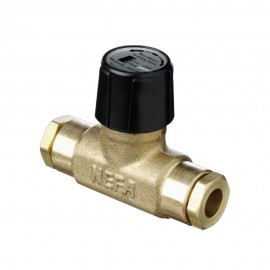 Non Return Isolating Valve 15mm Internal Flare