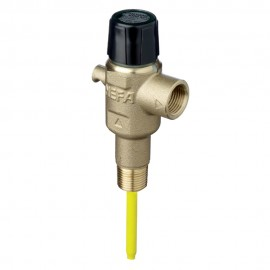 Pressure & Temperature Relief Valve 15mm - 1000kPa - Extended - Hangsell