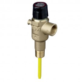 Pressure & Temperature Relief Valve 15mm - 1400kPa - Extended