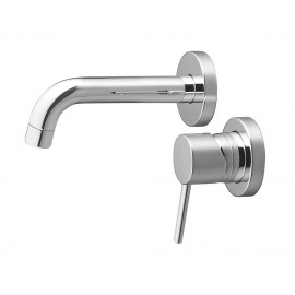 Minimalist Single Lever Wall Mounted Faucet