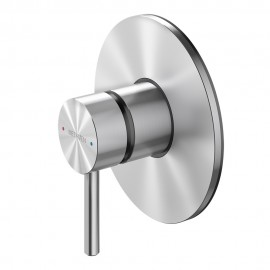 Tūroa Shower Mixer With Large Faceplate
